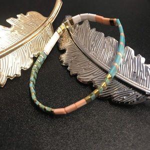 ANTHROBUNDLE HairClip & Argentina Stretch Bracelet